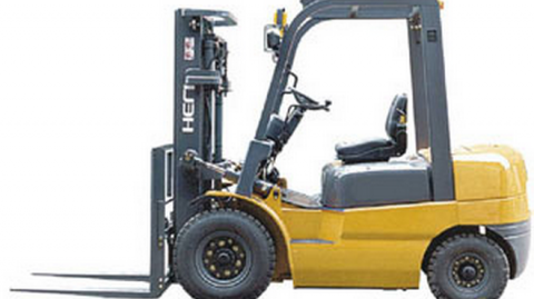 what is a counterbalance forklift